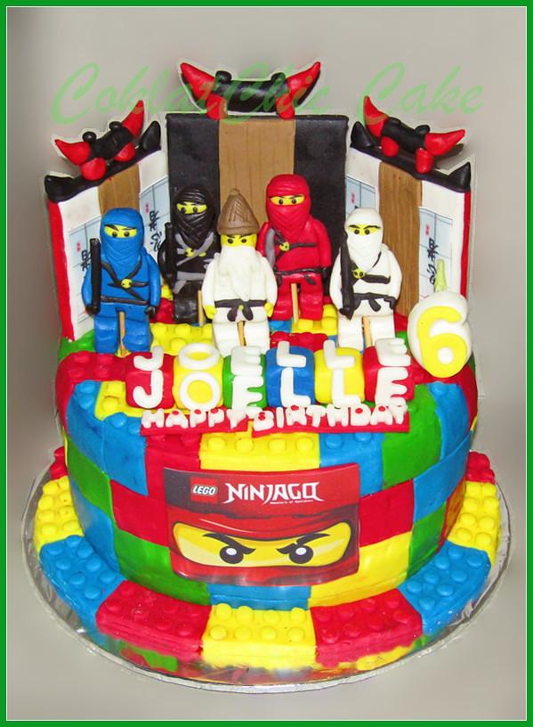 Cake Ninjago JOELLE 20 cm