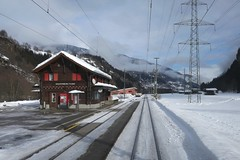 Surselva - RhB Station Waltensburg/Vuorz