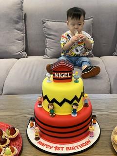 Nigel's 1st Birthday @ Potpourri, Ara Damansara