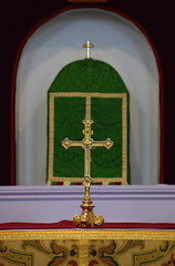 cross and tabernacle