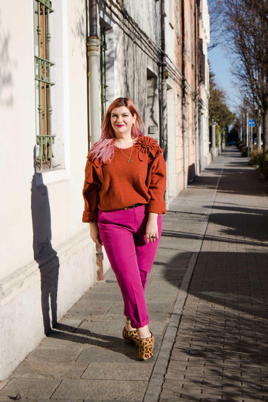 Outfit curvy plus size colori accesi (9)