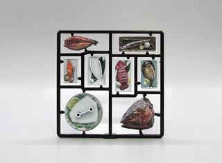 今晚就幫你的玩具加菜!M.I.C.『模型飯Vol.2』1/12比例塗裝完成組裝模型(フィギュアのごはん Vol.2 1/12 彩色済プラモデル)