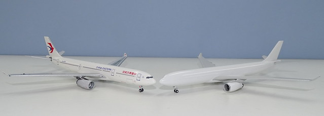 NG Models A330 New Mould vs Aeroclassics
