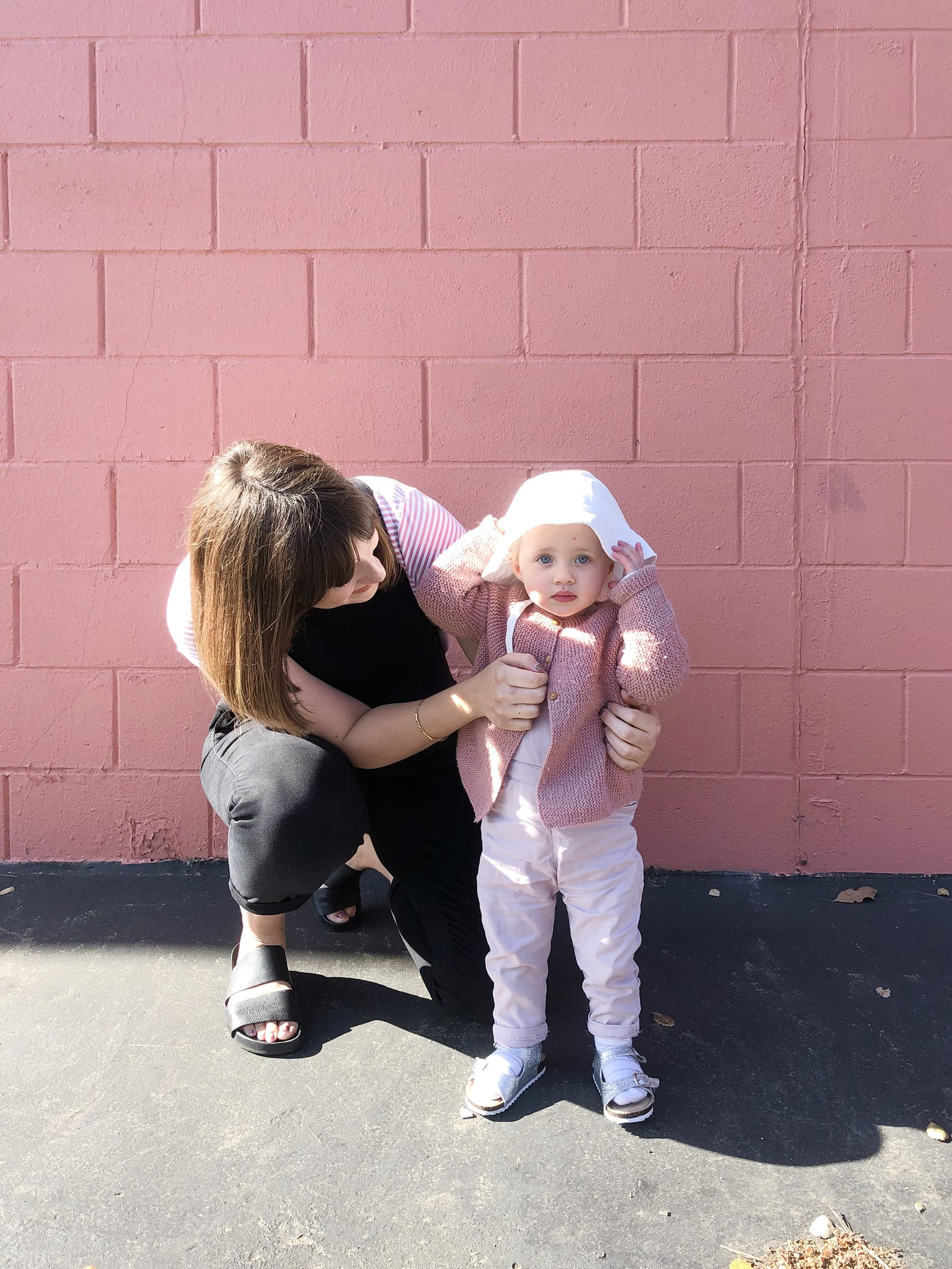Toddler girl, toddler girl fashion, Maternity fashion, Pregnancy style, maternity dungarees, Mom blog, Pregnancy blog, Mommy blogger, mom life, Candid motherhood, Girl mom, Fashion blogger, Bay Area blogger