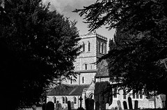 St Albans , St Michaels Church. Zeiss Contax  1.5 50mm Sonnar  1935
