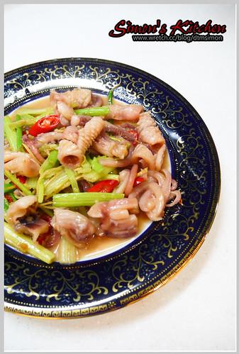 芹菜炒魷魚07
