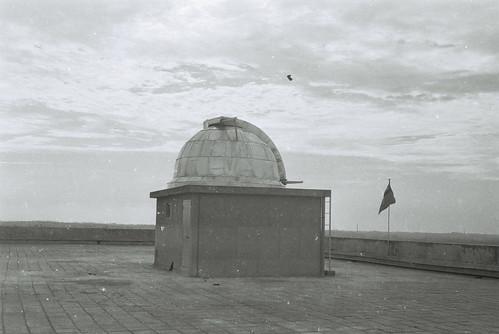 科一館樓頂的天文望眼鏡-1972