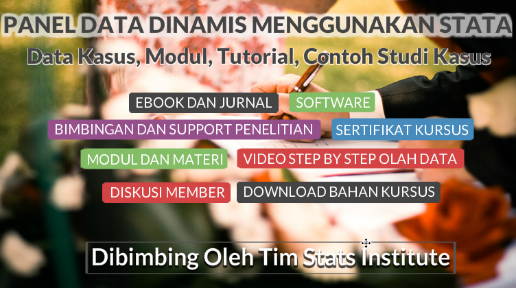 dynamic panel data menggunakan stata