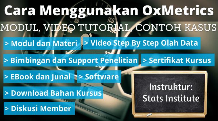 cara menggunakan oxmetrics